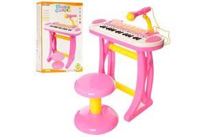 Синтезатор Bambi 3132 C, розовый
