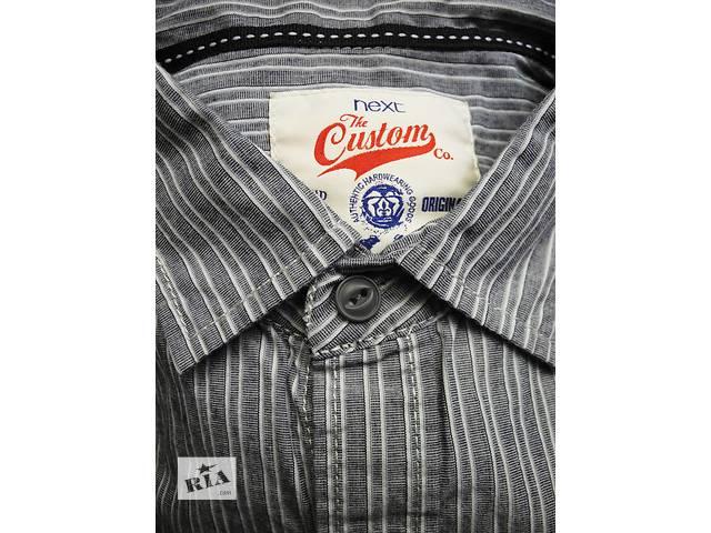 продам Мужская рубашка в полоску Next M бу в Полтаве