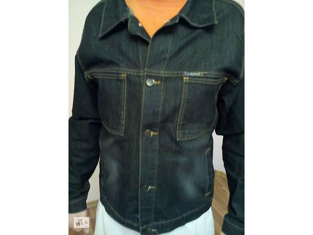 купить бу Пиджак джинсовый мужской в Киеве