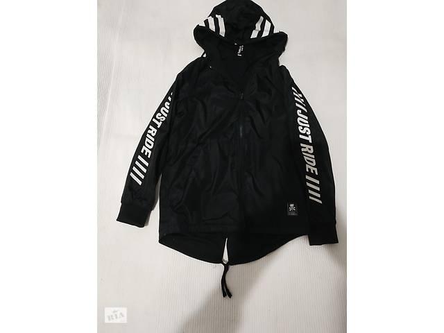Удлиненная куртка-ветровка (двусторонняя) для подростка- объявление о продаже  в Броварах