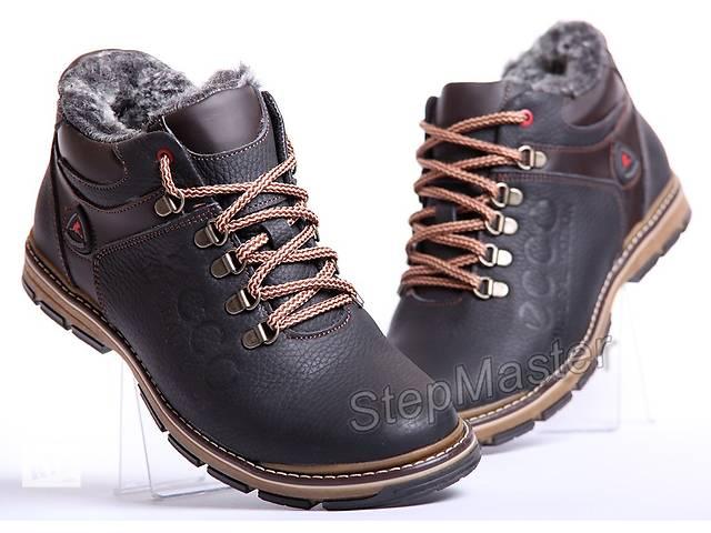 продам Мужские кожаные ботинки ECCO Natural Motion Receptor бу в Вознесенске