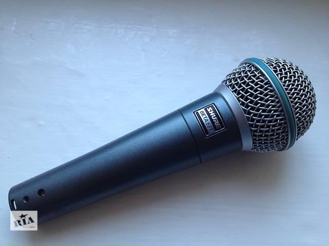 Микрофон SHURE BETA 58A (Оригинал, вот оф. дистрибутора в Украине!)- объявление о продаже  в Луцке