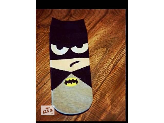 продам Милые носки с принтом Бэтмэна бу в Запорожье