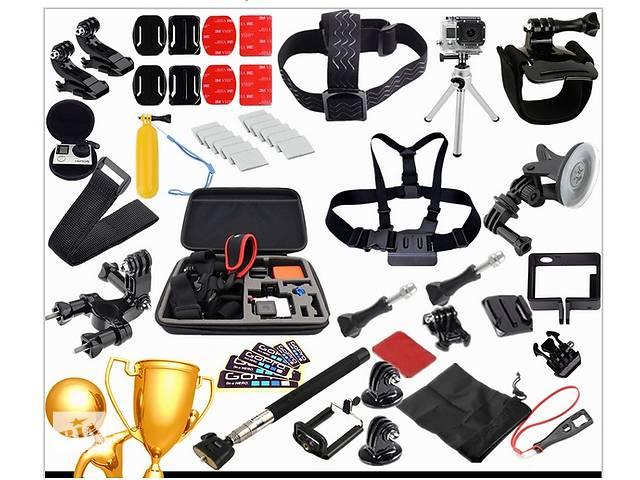 бу Набір аксесуарів для GoPro, сімейний комплект (30 в 1), екшен камера в Каменец-Подольском