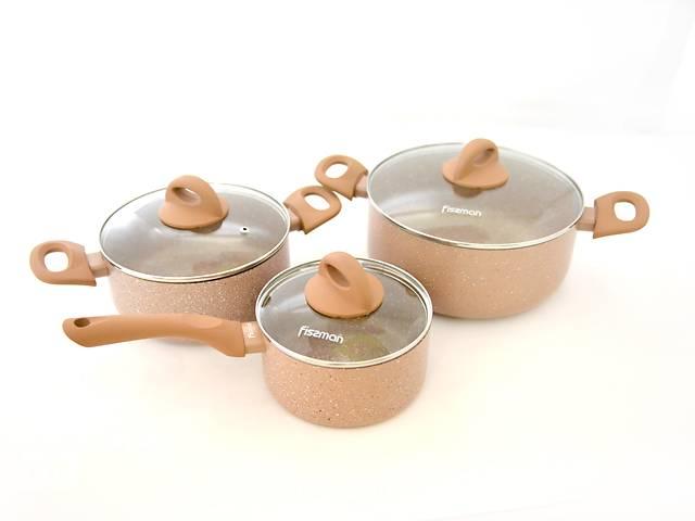 продам Набор посуды Fissman Latte 4952 из 6 предметов (AL-4952.6) бу в Киеве