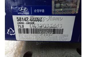 Накладка тормозных колодок Hyundai E-Aerotown HD120 10-