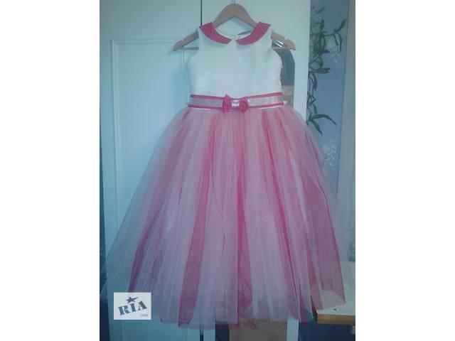 продам Нарядное детское платье праздничные снежинки дитяче святкове вечерние торжественные выпускные бу в Полтаве