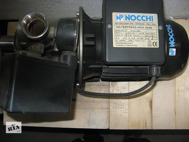 продам Насос NOCCHI центробежный INOX 60/50 0,75кВт бу в Львове