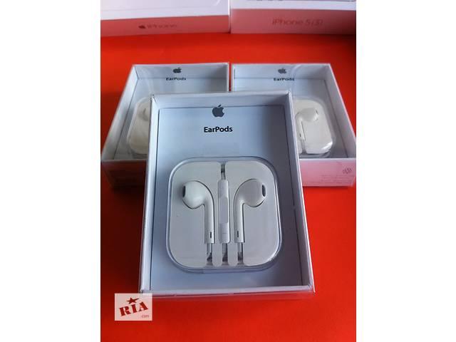 бу Наушники Apple Earpods iphone 4 5 5s 6 гарнитура айфон наушники earpods в Днепре (Днепропетровск)