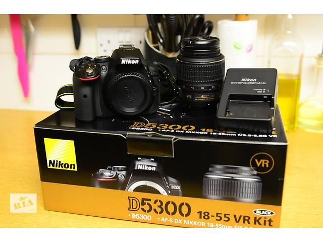 купить бу Nikon D5300\18-55VR в Трускавце