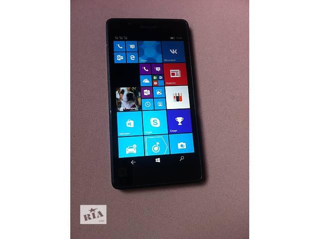 продам Nokia Lumia 540 Dual SIM. Хорошее Состояние. Полный комплект бу в Василькове (Киевской обл.)