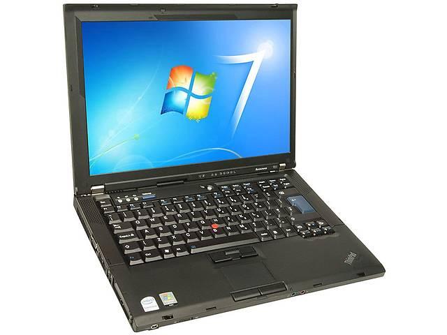 Ноутбук Lenovo ThinkPad T61 14.1 (Core2Duo 1.8 ГГц, 2 ГБ ОЗУ, DVD-RW, Windows7)- объявление о продаже  в Харькове