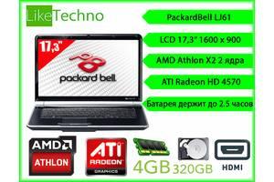б/в Ноутбуки мультимедійні центри Packard Bell