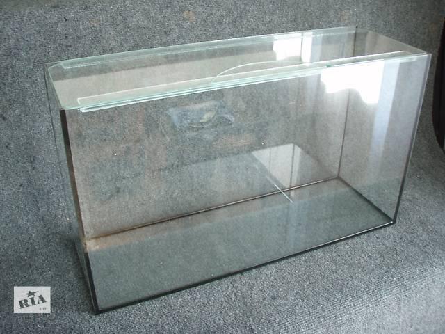 купить бу Новые аквариумы 52л+покровное стекло в Днепре (Днепропетровск)