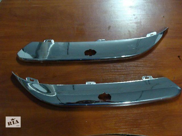 купить бу Новые хромированные накладки бампера для легкового авто Chrysler 300 С 2005-2010 в Киеве