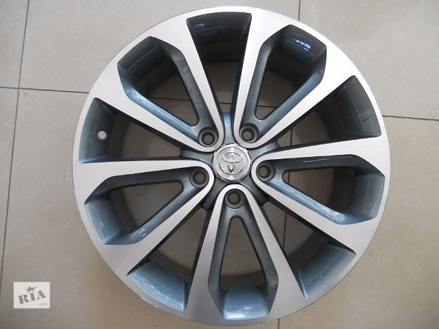 купить бу Цена за диск. Новые R18 5x114.3 Оригинальные литые диски Toyota  Camry, Corolla, Rav4 фирменные диски. Производств в Харькове