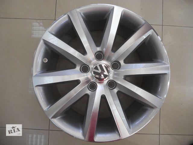 купить бу Цена за диск. Новые R19 5x130 Оригинальные литые диски Volkswagen Touareg фирменные диски Производство Германия в Харькове