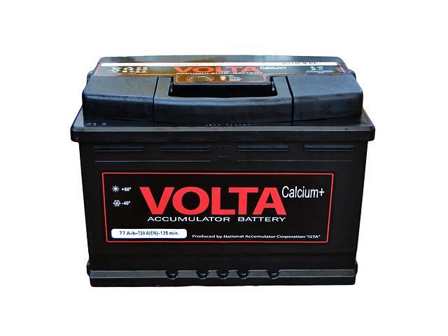 продам Новый аккумулятор для легкового авто Аккумулятор Volta 6СТ- 77А Euro бу в Тернополе