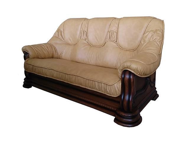 бу Новый кожаный диван Grizli (Гризли). Гарантия. Есть в наличии. в Киеве