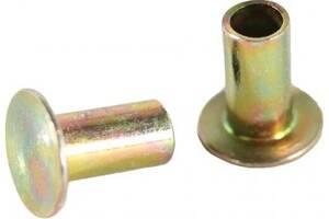 Новый заклепки наклад. торм. 100 шт. 8x15mm стальн. сплош.  beral 93058