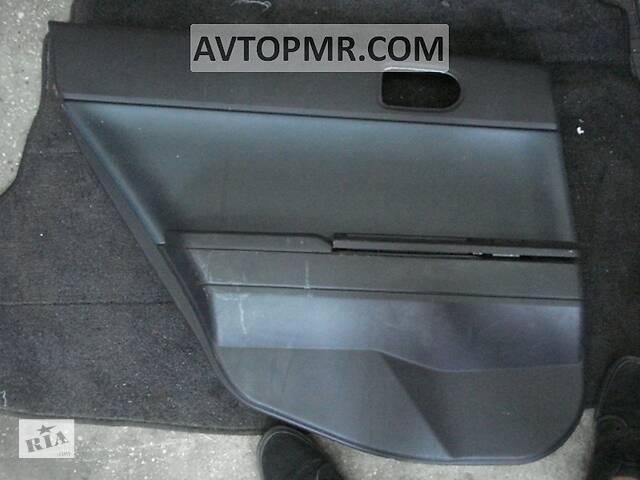 купить бу Обшивка двери (карточка) зад лев Mitsubishi Galant 04-12 7222A025XA разборка Алето Авто запчасти Митсубиши в Киеве