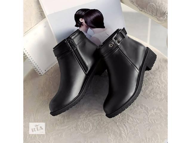 бу Обувь женская осень зима сапожки новые в Киеве