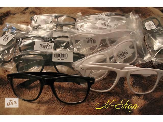 продам Очки Ray Ban Wayfarer с прозрачными стеклами линзами ,очки прозрачные бу в Вознесенске