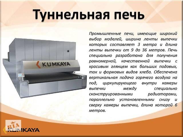 купить бу Одноярусная туннельная печь  TU 2015  Kumkaya в Киеве