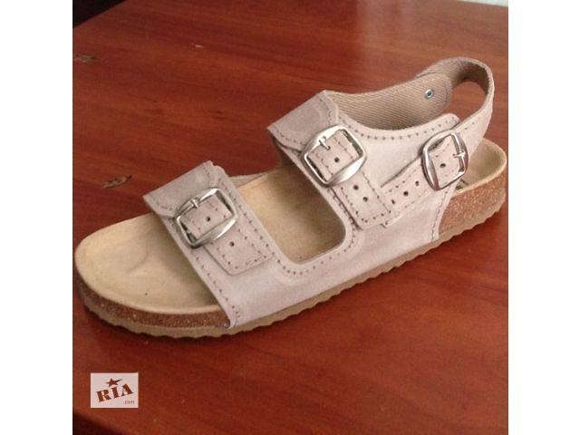 продам Ортопедические сандалии Т-15 бежевые, гладкая кожа бу в Сумах