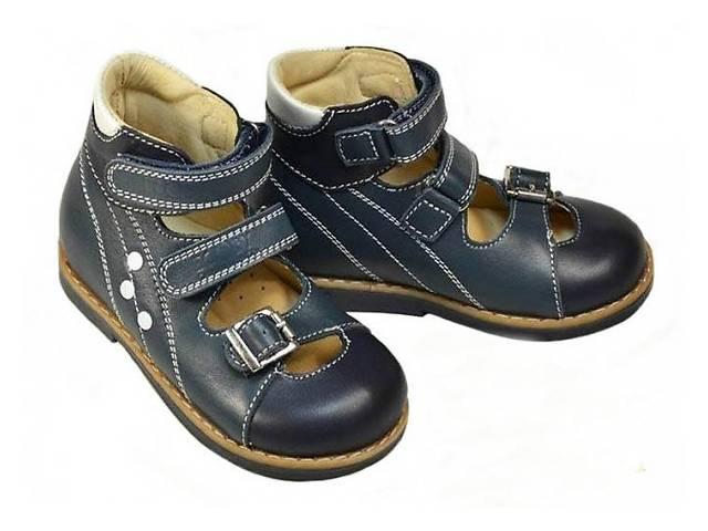 купить бу Ортопедические туфли ТМ «Ecoby»108B в Запорожье