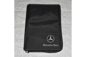 Оригинальная папка тряпичный чехол Mercedes-Benz для инструкции, сервисной книжки, документов, подарок мужчине, другу