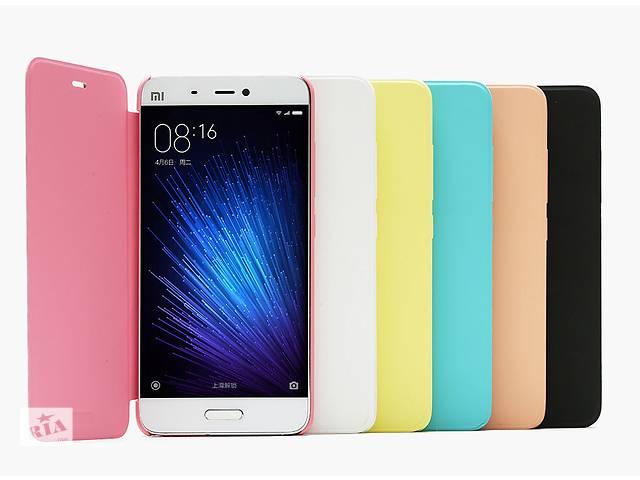 купить бу Оригинальній защитный Флип чехол Flip Case для Xiaomi Mi 5, Mi 5 Pro в Киеве