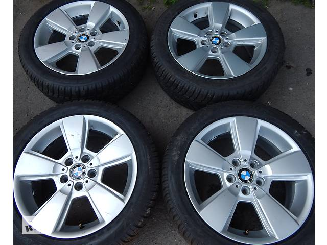 бу Оригинальные диски BMW X3 BBS ITALY 8 R18 5X120 ET46 VW без пробега по Украине в Виннице