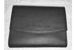 Оригинальный кожаный чехол папка Mercedes-Benz для инструкции, сервисной книжки, документов, подарок мужчине, другу