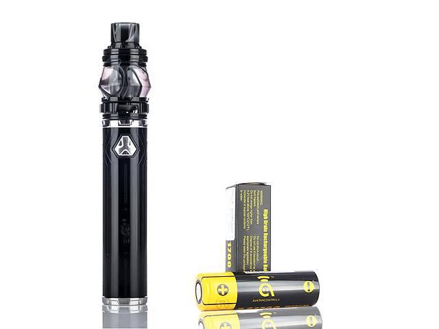 купить бу Стартовый набор Eleaf iJust 21700 Kit 4000mAh with battary Black (AJ_9neij210) в Киеве