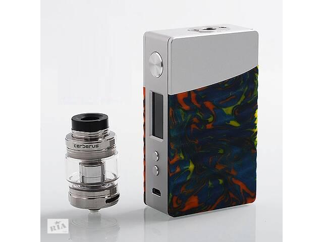 Стартовый набор Geekvape Nova Cerberus RTA Kit 200W 5ml 4 ml Silver Flare Resin (AJ_9-9sndv01)- объявление о продаже  в Киеве