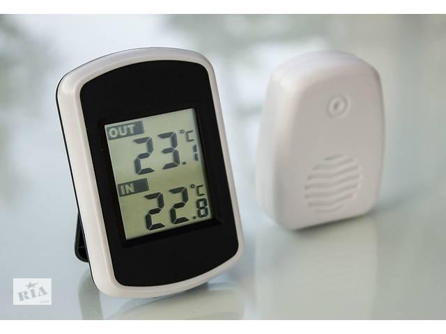 купить бу Термометр беспроводной в теплицу или подвал (радио метеостанция) оптом и в розницу в Каменке-Днепровской