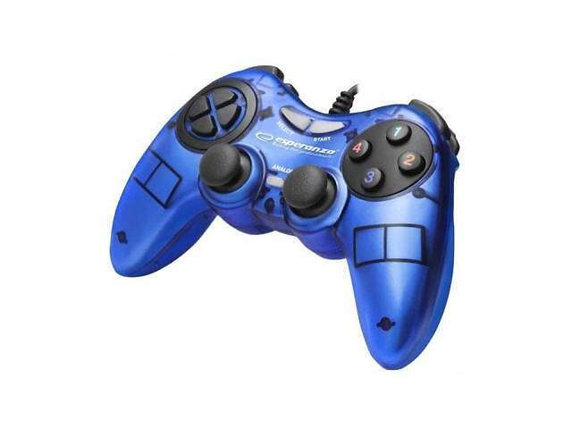 продам Геймпад Esperanza Fighter PC Blue (EGG105B) бу в Дружковке