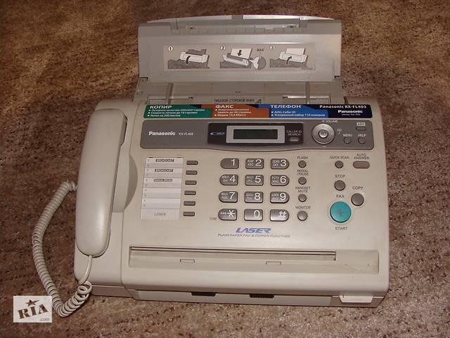 бу Телефон-факс-ксерокс под формат бумаги А4 в Барышевке