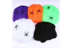 Паутина, пауки, летучие мыши Набор для детского праздника Хеллоуин