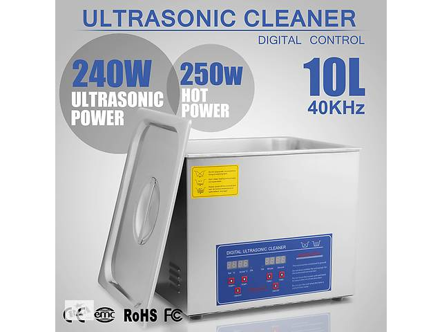 Ультразвуковая мойка 10 л. Ванна очистки ультразвуком от загрязнений- объявление о продаже  в Запоріжжі