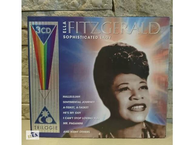 "купить бу Ella Fitzgerald 3 CD box ""The greatest hits"" в Херсоне"