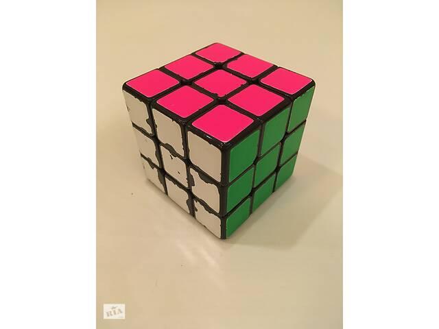 продам Кубик рубика DaYan 5 ZhanСhi 3x3 57мм (флюоресцентные наклейки) бу в Києві