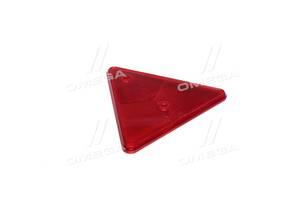 Отражатель-треугольник (катафот), красный, 160x141x10 (Руслан-Комплект)