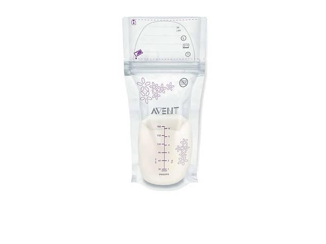 Пакеты для хранения грудного молока AVENT 180мл 25шт (SCF603/25)- объявление о продаже  в Киеве