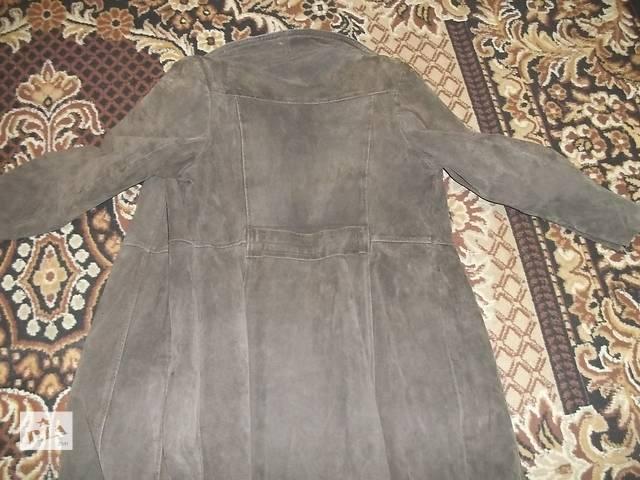 продам пальто под замш бу в Кременчуге