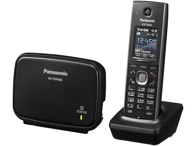 бу Panasonic KX-TGP600RUB Black, SIP-телефон DECT в Києві