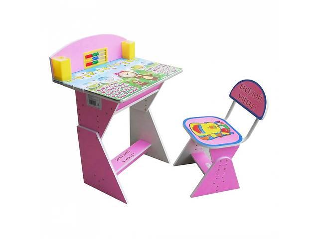 бу Парта + стул E2017 PINK Веселой учебы в Одессе