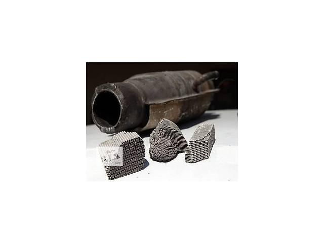бу Переработка (афинаж) использованных автомобильных катализаторов  в Украине