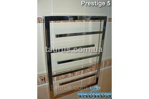 Невеликий, вузький полотенцесушитель Prestige 5 /650х400 для ванної кімнати. Строгий дизайн. Україна